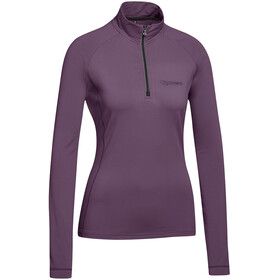 Gonso Antje Langarm Active Shirt Damen plum purple